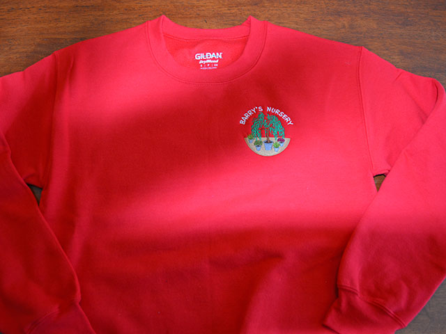 Sweatshirt Embroidery