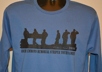 Richie Emmons Annual Memorial Striper Tournament Shirts