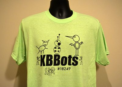 South Jersey Robotics Team KBBots T-shirt