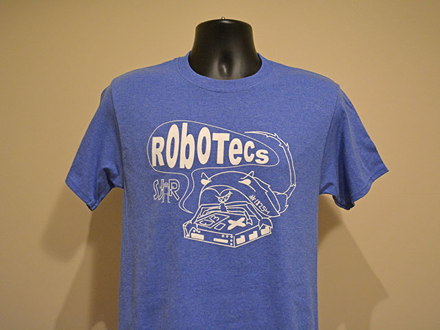 T-shirts for South Jersey Robotics Team Robotecs