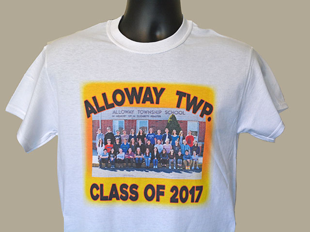 Class of T-shirts