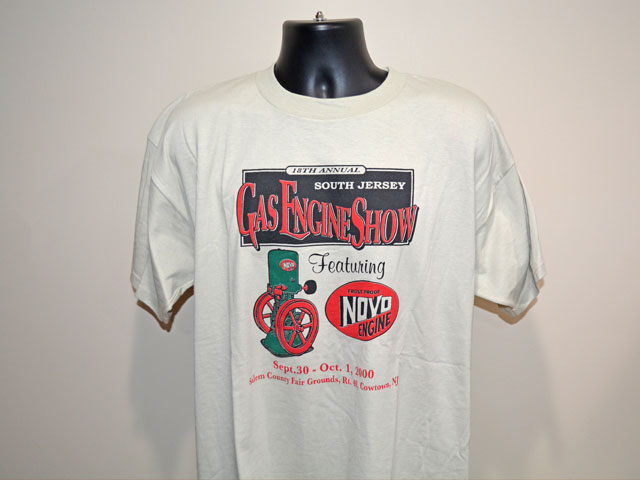 Flashback Friday Gas Engine Show T-Shirt